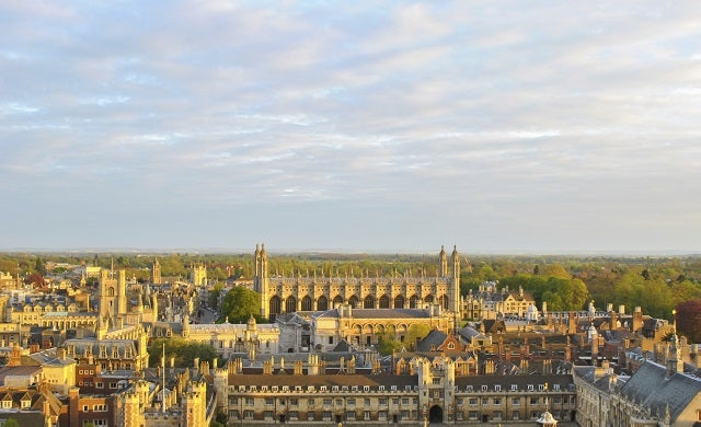 Cambridge 'most vibrant' and entrepreneurial place to live in England