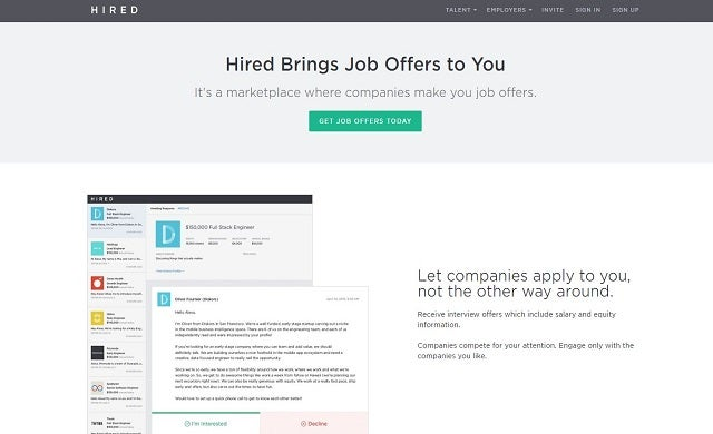Hired closes $70m Series C, bringing total investment to $100m