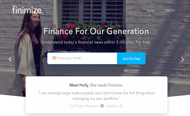 Finance start-up Finimize secures £450,000 in seed funding