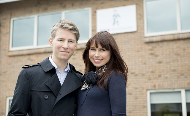 Living DNA: David Nicholson and Hannah Morden