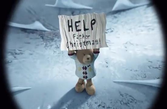 hugh christmas bear