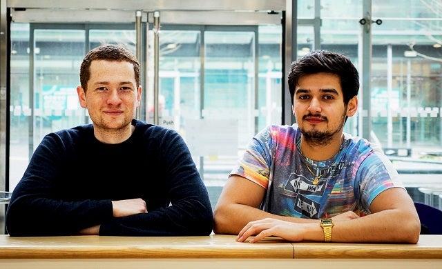 School of Code: Chris Meah and Bhish Patel