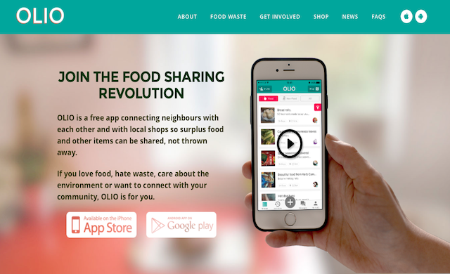 Food sharing app OLIO clinches $2.2m
