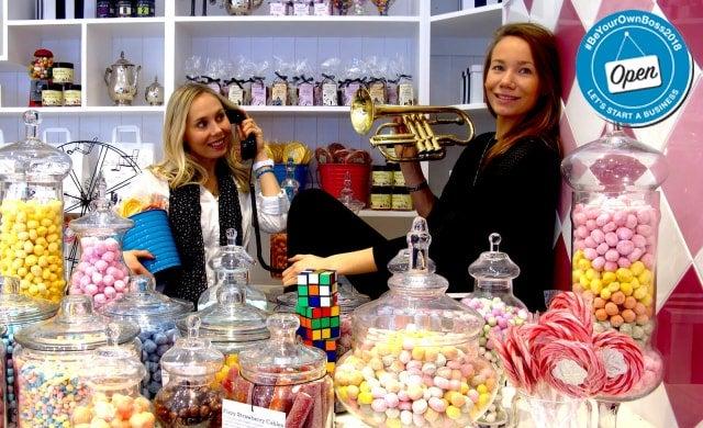 Anna and Josefin, founders of SugarSin