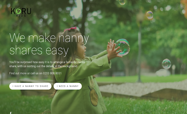 Nanny sharing platform Koru Kids snags £600,000 in seed funding