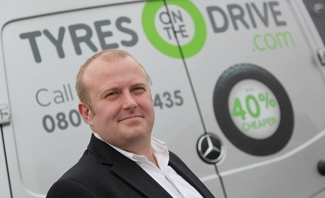 Mobile tyre fitting company TyresOnTheDrive.com bags £8m