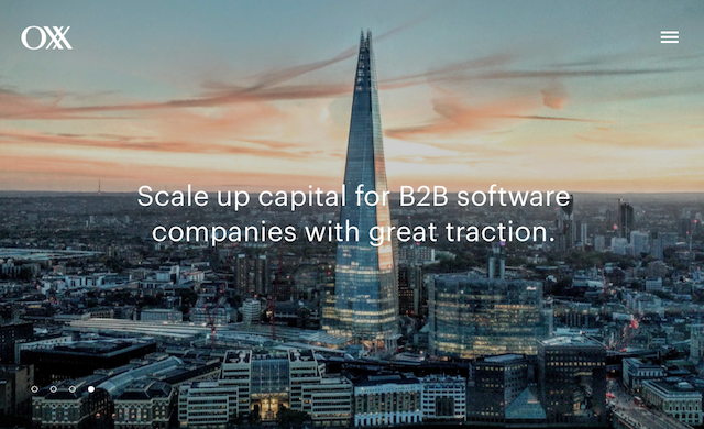 UK B2B software firms to benefit from new growth capital investment firm Oxx