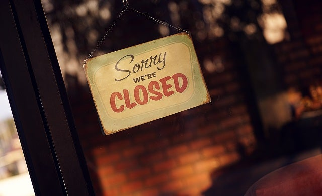 Businesses going bust as insolvency rises in 2016