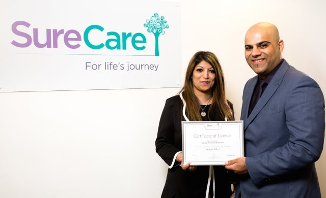 SureCare welcomes new franchisee following Bolton branch re-sale