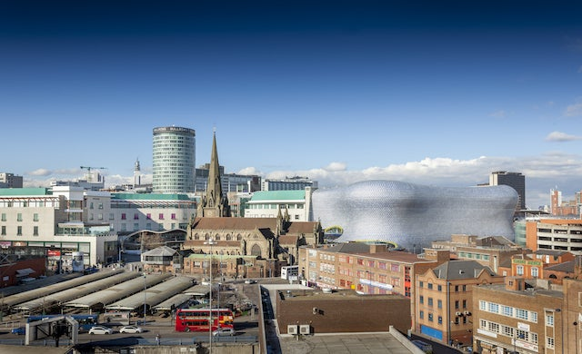 "Birmingham ""most entrepreneurial"" city outside of London"