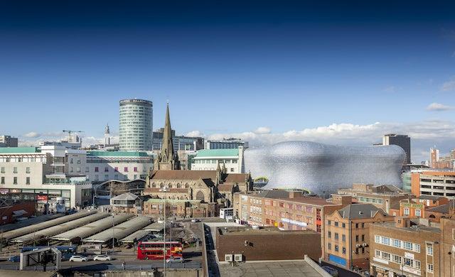"Birmingham ""most entrepreneurial"" city outside of London"