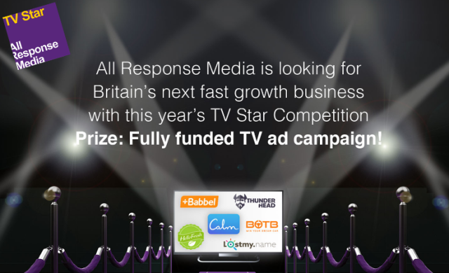 Last chance for your start-up to win a fully funded £50,000 TV ad campaign!
