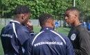 Young entrepreneurs: Tyrelle McLeod-Bentley and Junior Osei-Tutu, Soccer Assist