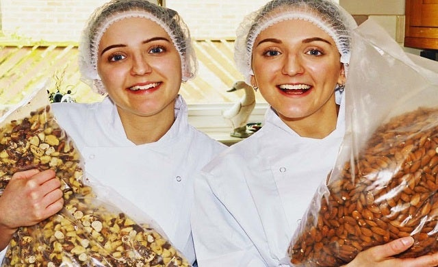 Young entrepreneurs: Lauren Chittock and Sophie Chittock, Nuoi Foods
