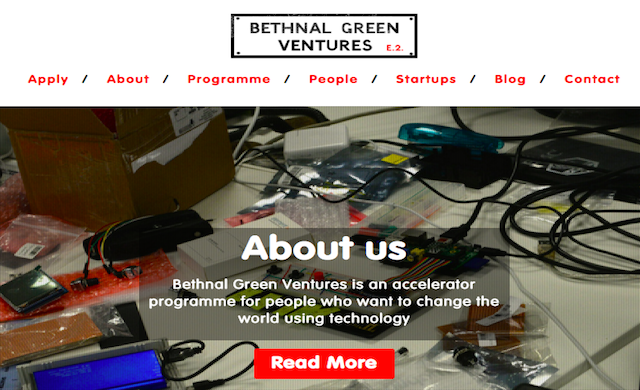 Tech accelerator Bethnal Green Ventures secures £1.3m