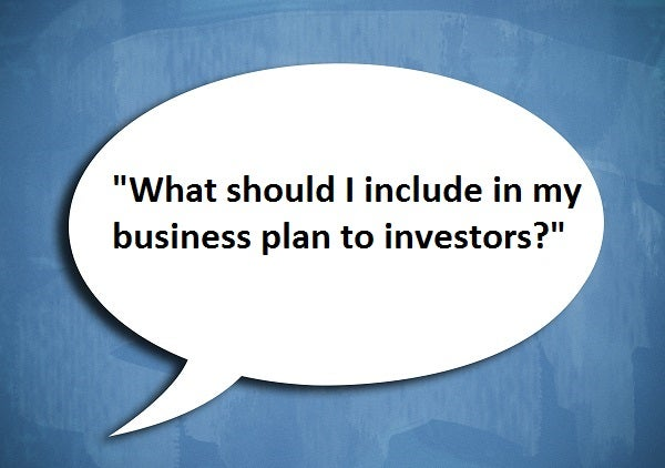 what should I include in my business plan