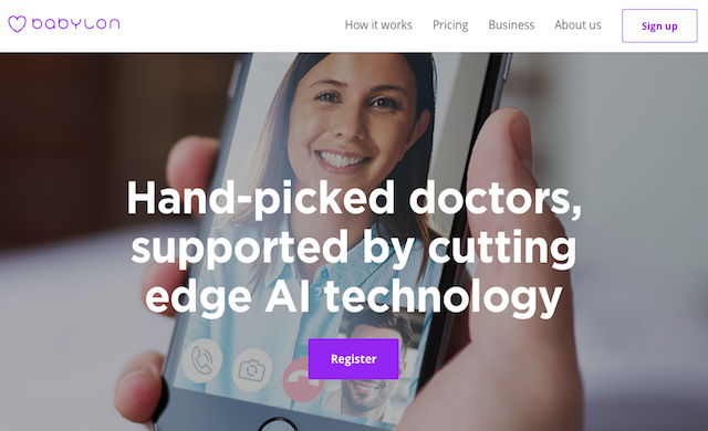 Digital healthcare app Babylon Health lands $60m in new funding