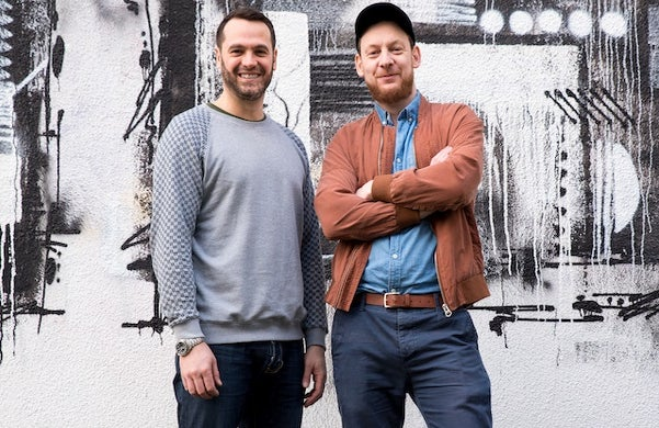 Rupert Coney and Michael Blakeley: Clickd