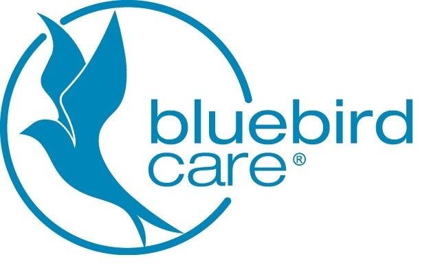 Bluebird Care - Process Blue Logo - Print