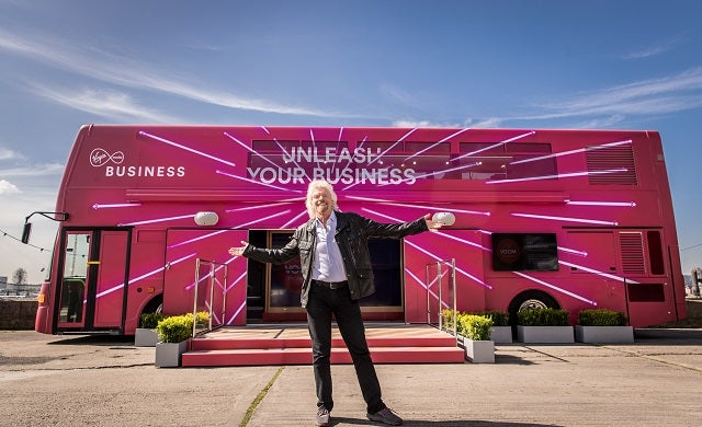 Vroom VOOM! Richard Branson's £1m start-up pitching competition returns