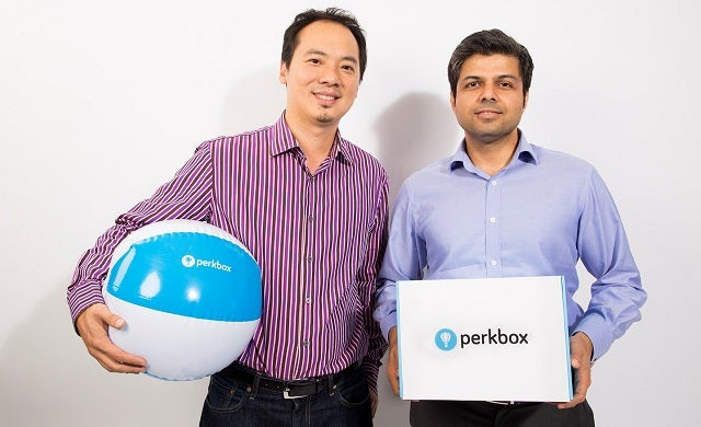 Saurav Chopra and Chieu Cao-Perkbox