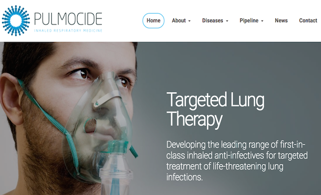 Biotech firm Pulmocide secures £24.5m in Series B investment