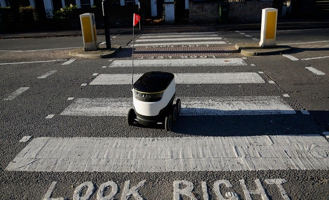 JustEat-delivery-robot