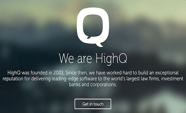 Software company HighQ lands £35m investment