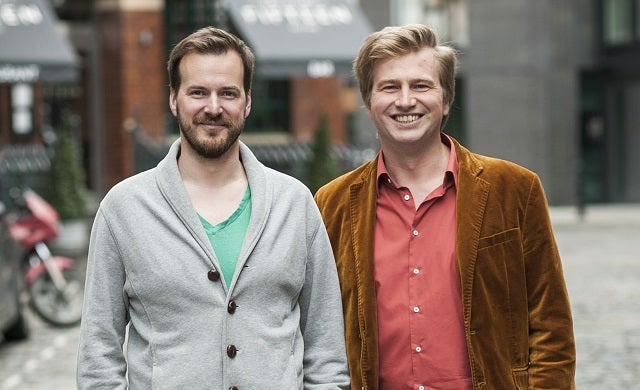 The founders of TransferWise