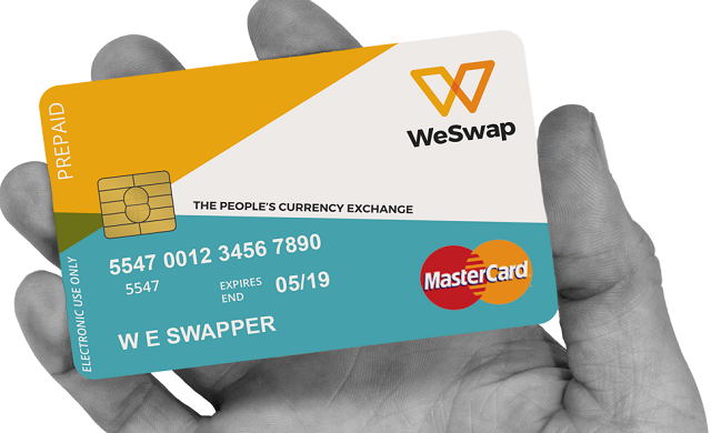 WeSwap-Mastercard