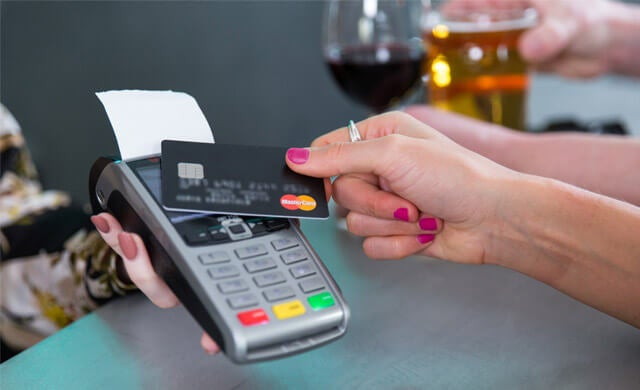 Small business credit card machine terminals