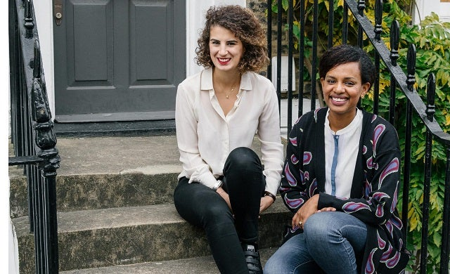Noemie Achache and Millen Wolde-Selassie no+mi London