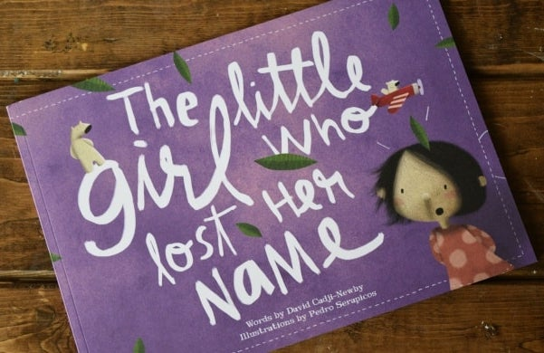 Wonderbly's book The Little Girl/Boy Who Lost His/Her Name
