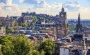 Edinburgh city by day