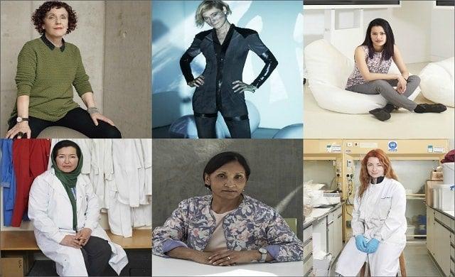 UK female innovators collage