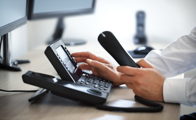 Business SIP trunking phone