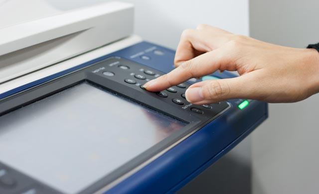 Extra photocopier costs