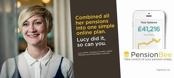 PensionBee's latest marketing campaign