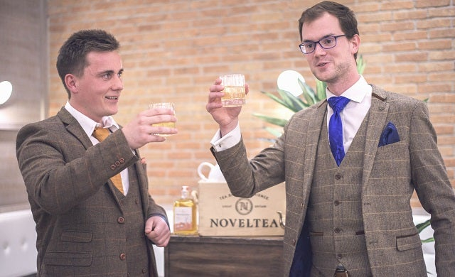 The founders of NOVELTEA