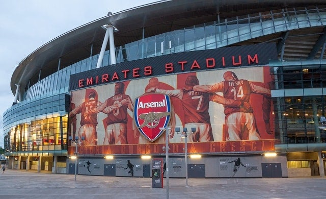 Arsenal's home stadium, The Emirates