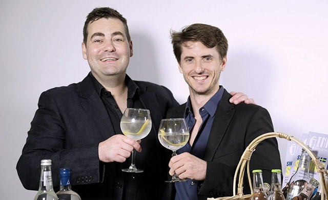 Co-founders of Craft Clubs Jon Hulme and John Burke