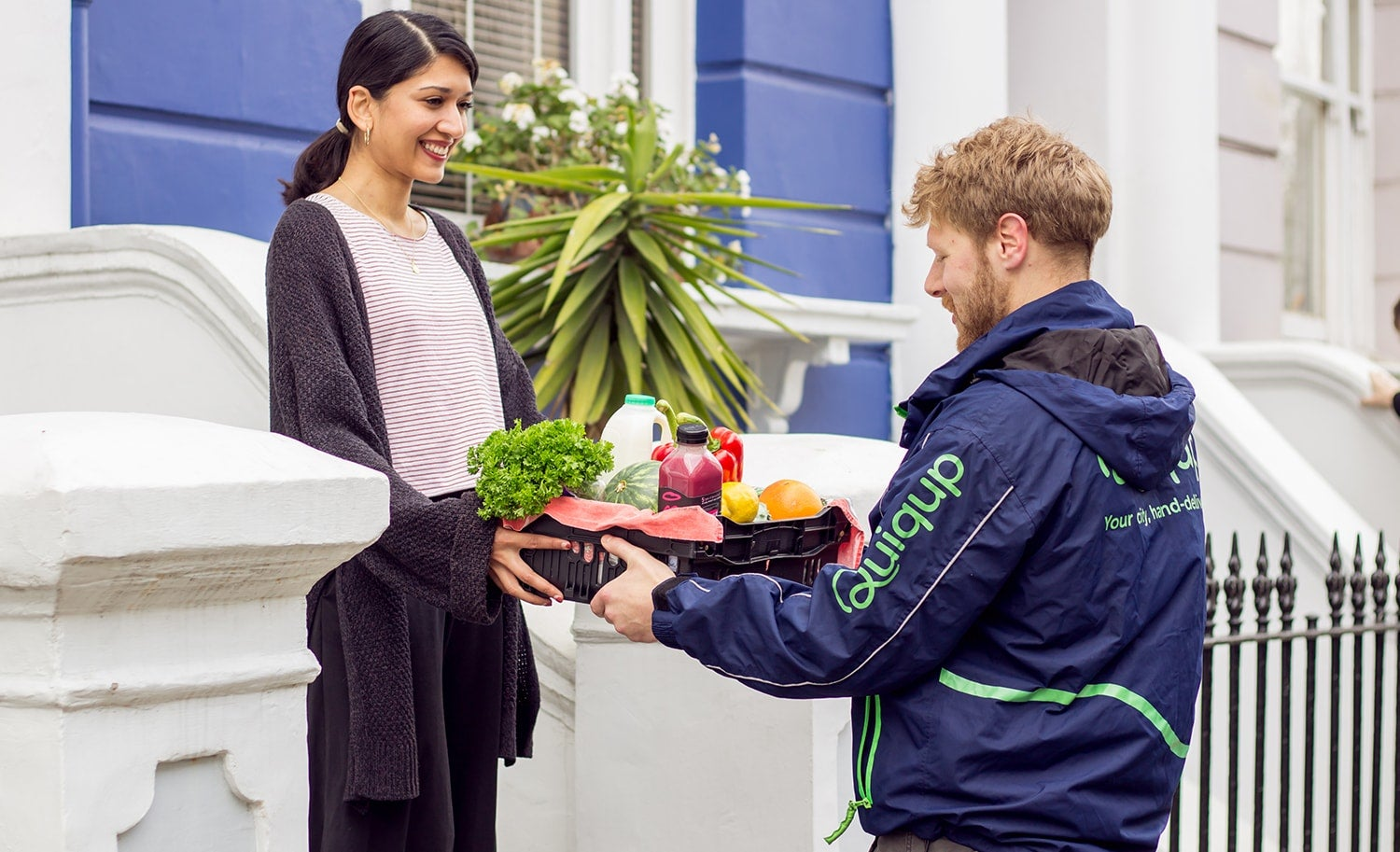Start-up Quiqup delivers groceries and ingredients