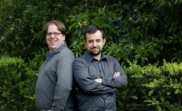 Jeff Lynn and Carlos Silva of Seedrs