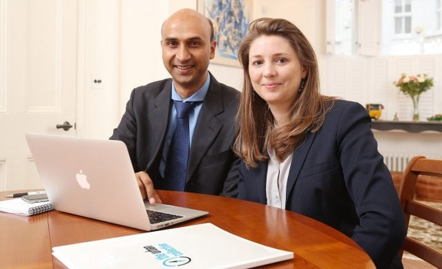 The Urban Collective co-founders Mayank Mathur and Valerie Vigouroux