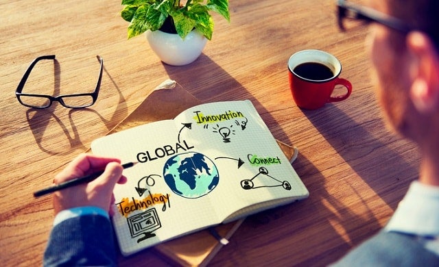 Growing business overseas strategy