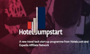 Travel tech accelerator Hotel Jumpstart's homepage