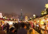 Christmas market Hyde Park Winter Wonderland UK