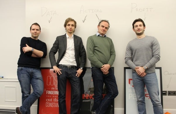 The founders of Ometria