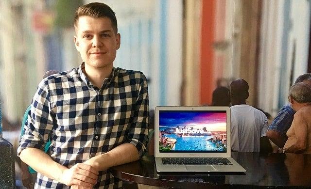 Young entrepreneur Chris Ball