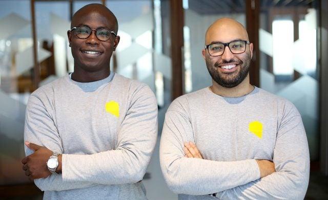 Leon Ifayemi and Omar Fahmi, founders of SPCE